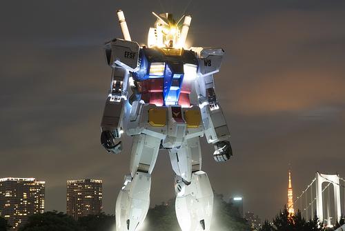 Gundam-Statue